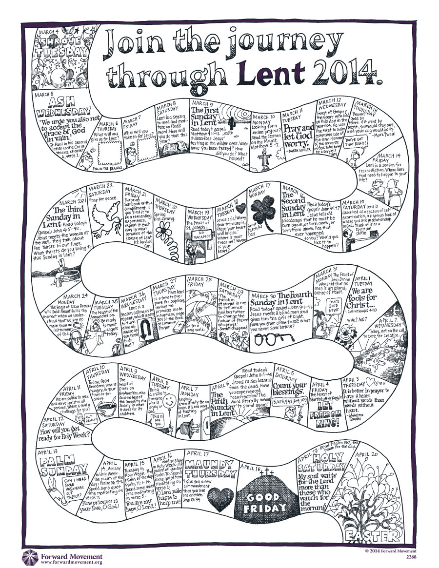 Lenten Calendar Kids Crafts